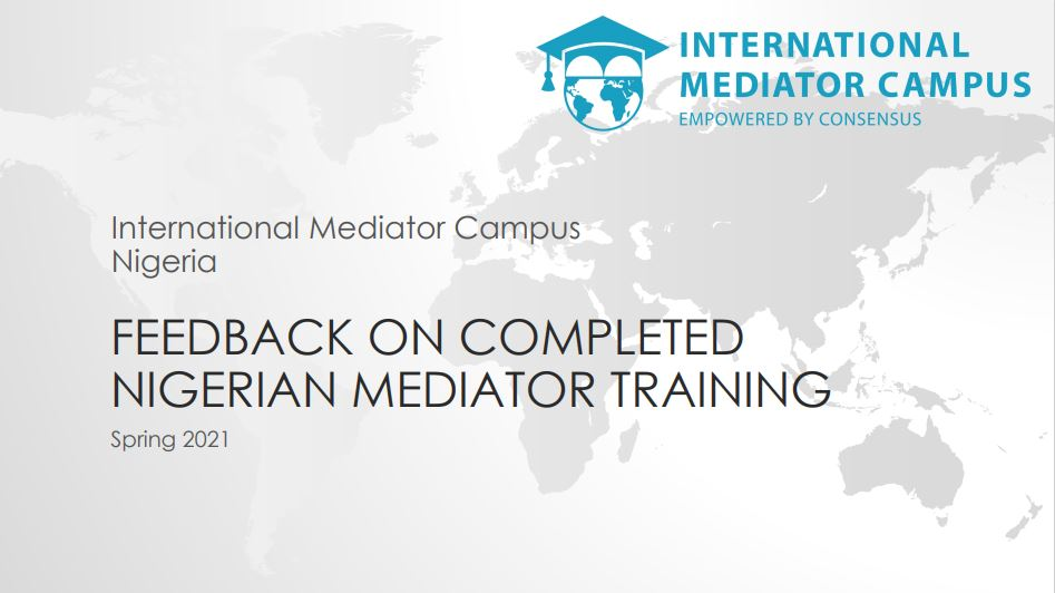 International Mediator Campus: Nigeria 2021